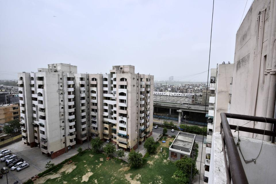 A file picture of high-income group DDA Flats in Jasola Vihar.  Delhi presents a unique opportunity – given that land and development are a monopoly of the central government, it could be a model for successful implementation of the RERA's independent regulatory framework.