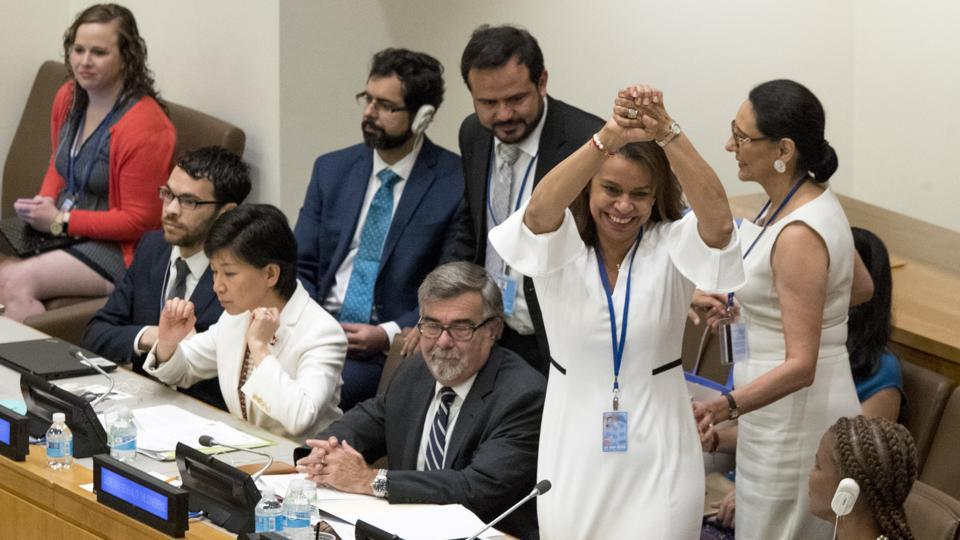 Over 120 UN Member States Adopt Treaty to Ban Nuclear Weapons