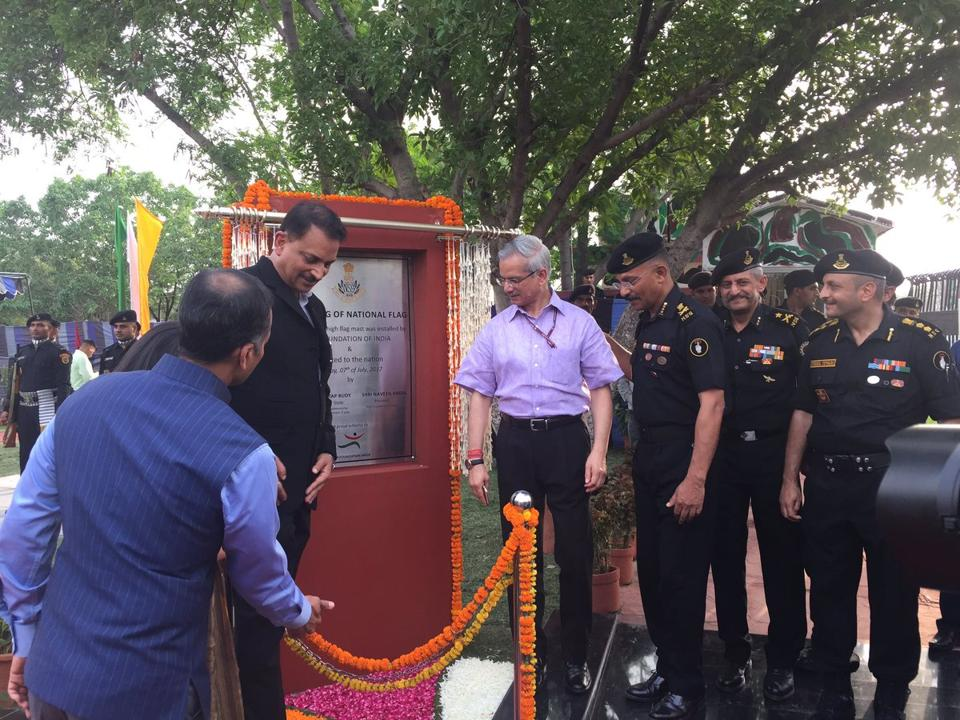 Union minister Rajiv Pratap Rudy was the chief guest on the concluding day of 1st International Aviation Security Seminar held by National Security Guard at Manesar in Gurgaon on Thursday.