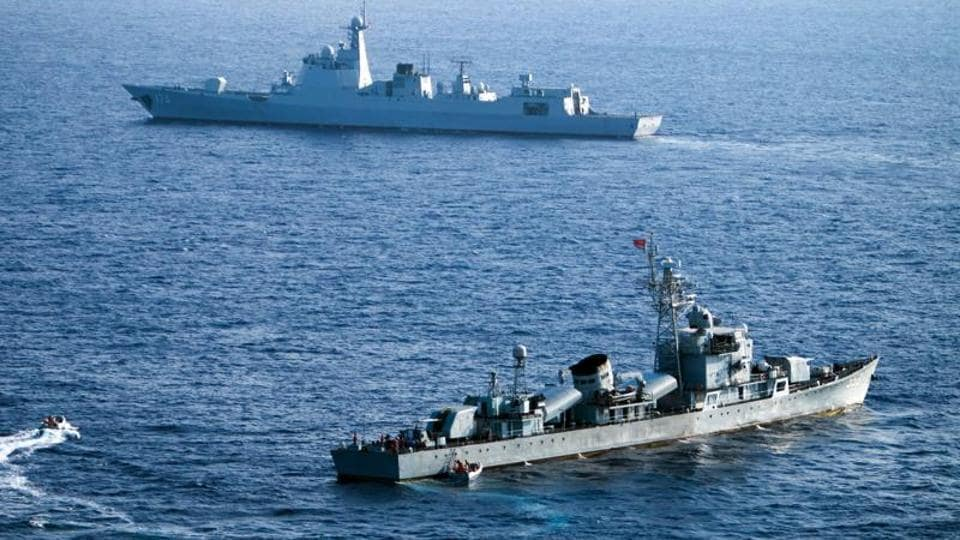 The annual Malabar naval drills are joint exercises by the US, India and Japan.