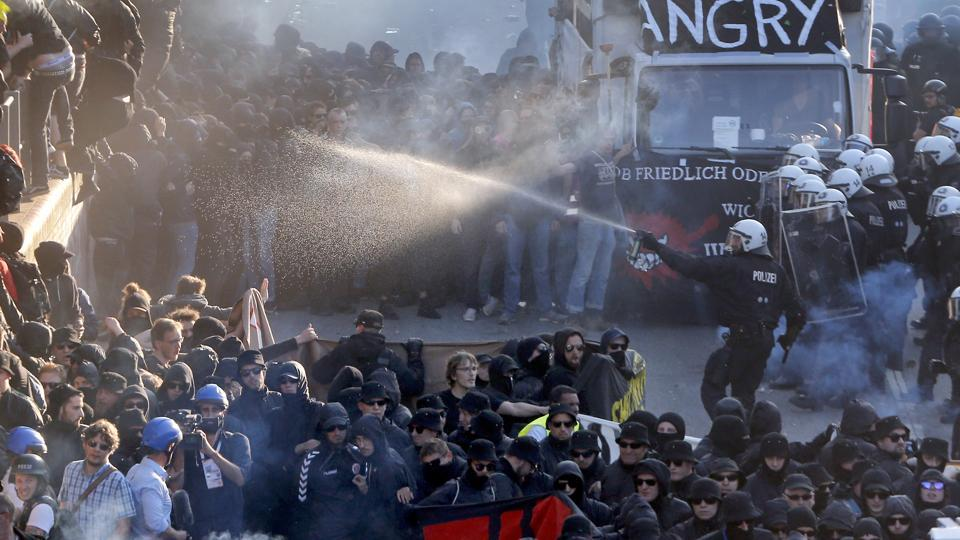 Anti-G20,G20 protest,Germany