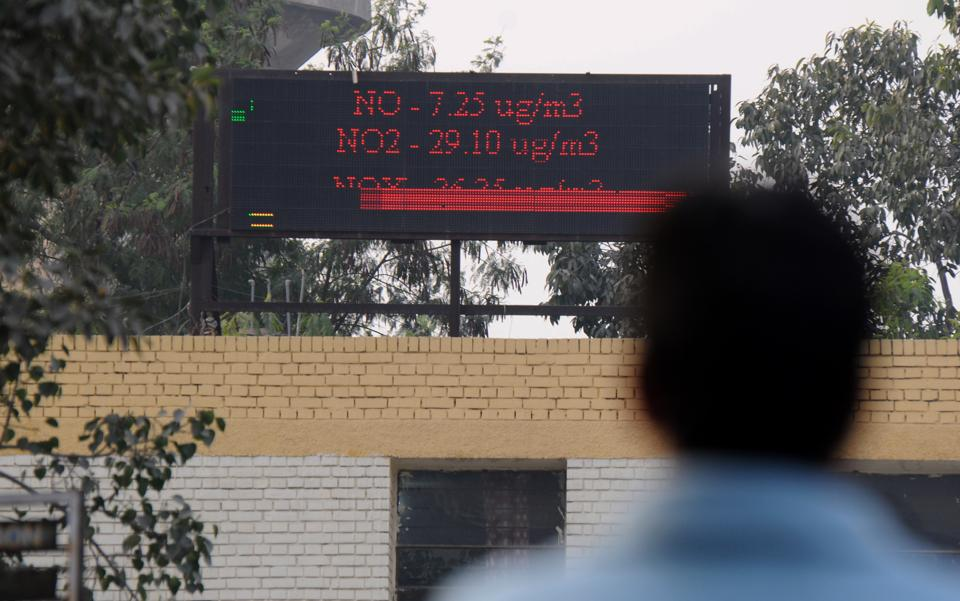 ambient air quality monitoring station,air pollution,Haryana State Pollution Control Board