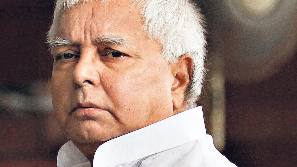 The CBI conducted raids at RJD chief Lalu Prasad's Patna house, as well as in 12 locations.