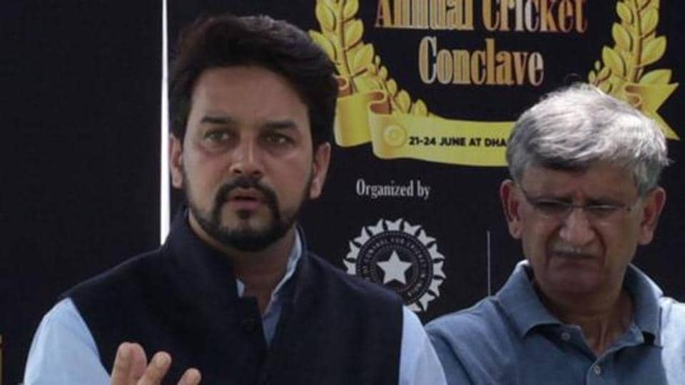 Anurag Thakur is the former president of the Board of Control for Cricket in India (BCCI).
