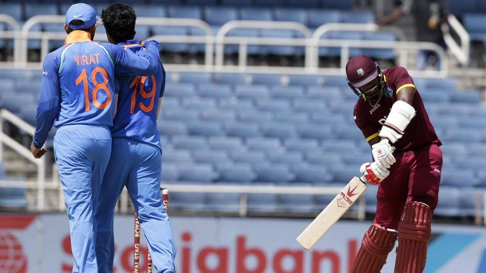 Umesh Yadav also dismissed three West Indies batsmen with his express pace. (AP)