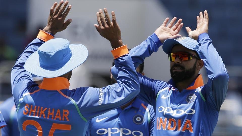 Eventually, India restricted the West Indies to 205/9 in 50 overs. (AP)