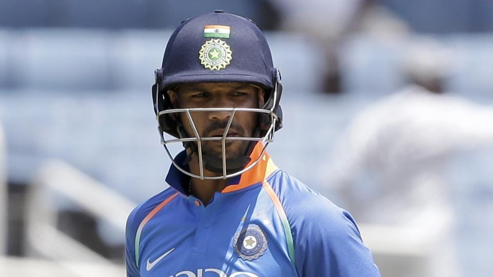 India did not start well in reply as they lost opener Shikhar Dhawan in the first over. (AP)