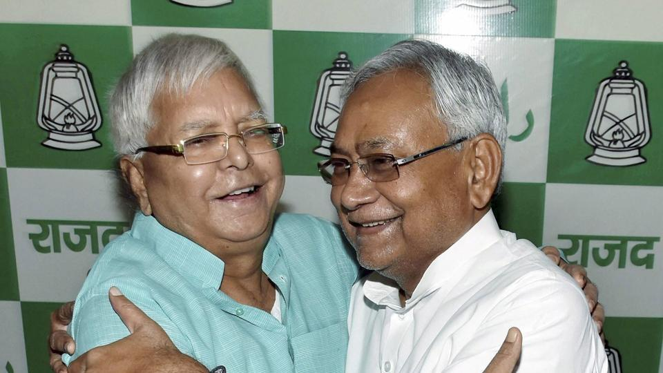 Bihar chief minister Nitish Kumar has remained silent on the CBI raids against RJD chief Lalu Prasad.