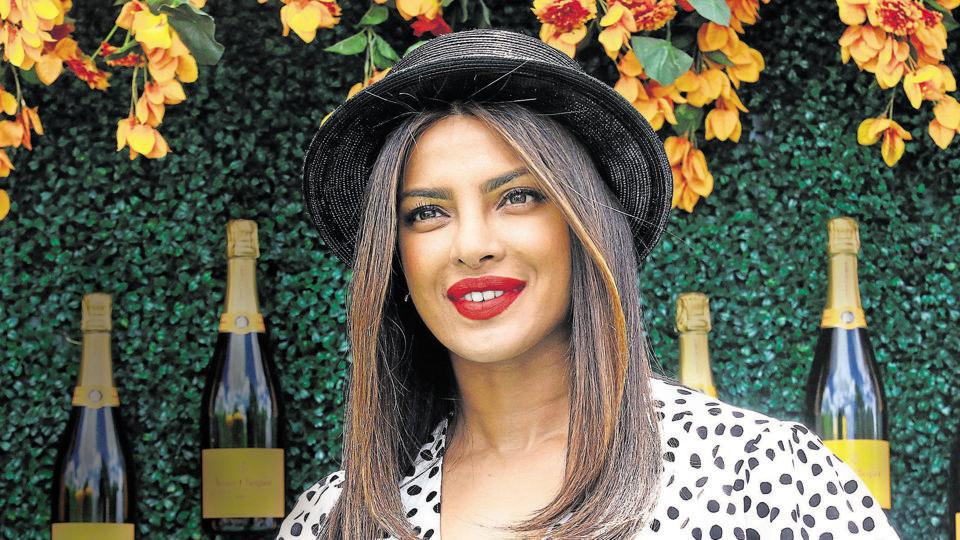 Priyanka Chopra attends the Veuve Clicquot Polo Classic at Liberty State Park on June 3, 2017 in New Jersey.