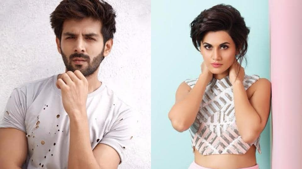 Taapsee and Kartik will be seen together onscreen for the first time in Chor Nikal Ke Bhaga.