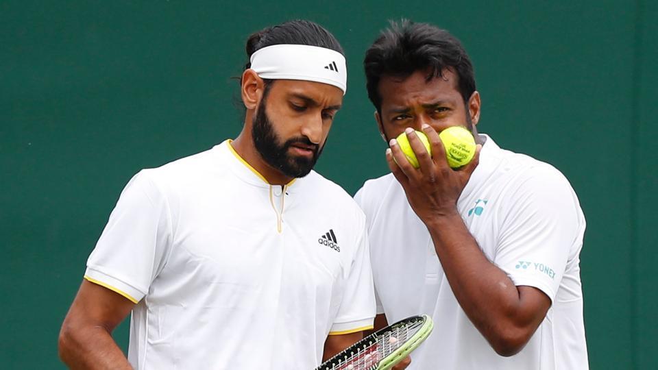 Leander Paes,Adil Shamasdin,Wimbledon
