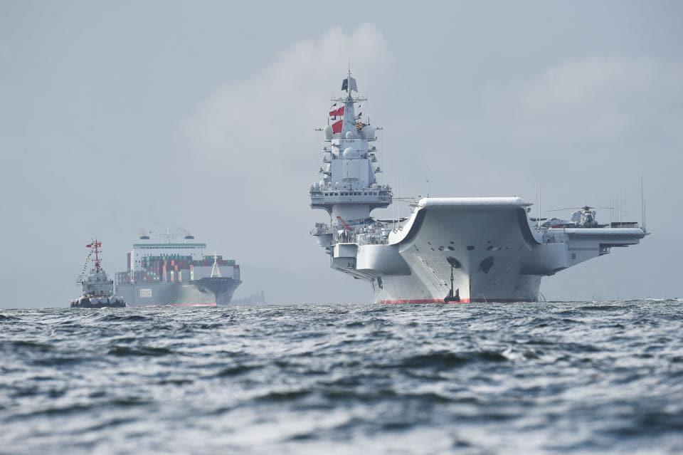 People's Liberation Army,Hong Kong,China's aircraft carrier