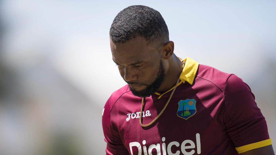 The Hope brothers top-scored for the West Indies but their contribution was not enough as West Indies struggled against Indian fast bowlers. (AFP)