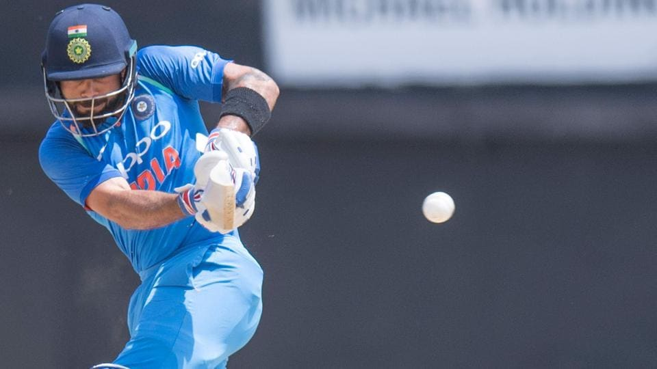 But India captain Virat Kohl took over from there. (AFP)