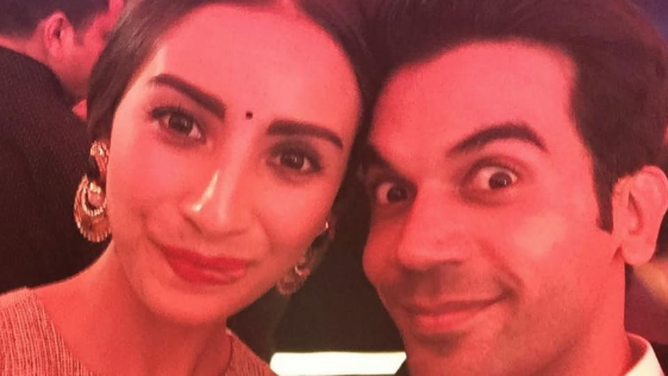Actor Rajkummar Rao says that he and his girlfriend Patralekha are in a very happy space right now.