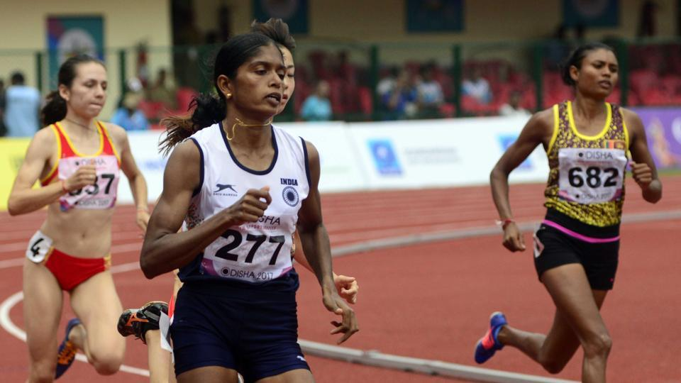 Tintu Luka comfortably qualified for the 800m final event at the Asian Athletics Championship.