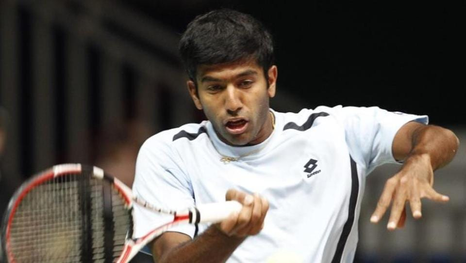 In mixed doubles, 10th seeded pair Rohan Bopanna-Gabriela Dabrowski beat Fabrice Martin-Raluca Olaru 7-6 (2), 7-5. (Twitter )
