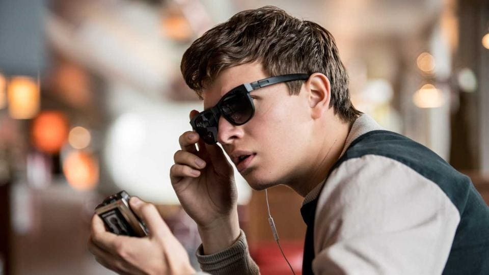 Ansel Elgort in a still from the film.