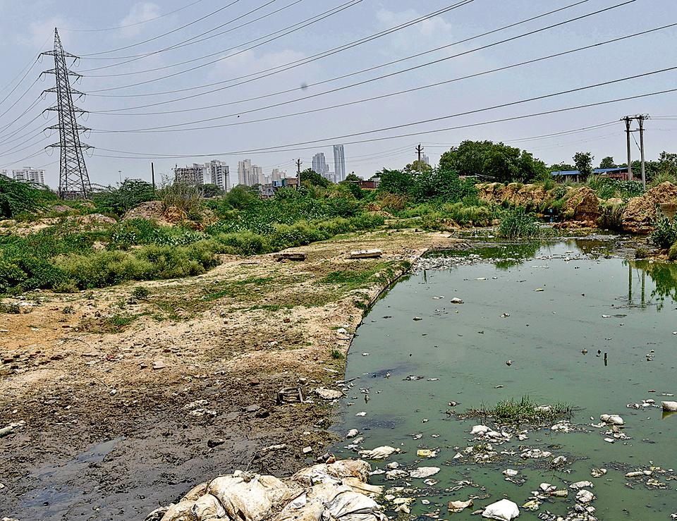 The Badshahpur drain will be transformed into a green avenue by the Huda.