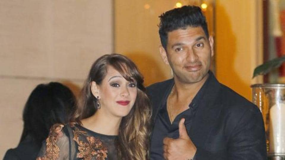 Yuvraj Singh married film actor Hazel Keech last year in December.