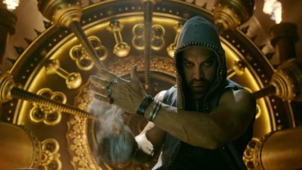 Aamir Khan plays former wrestler Mahavir Singh Phogat in Dangal.