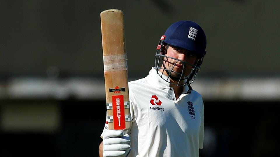Alastair Cook slammed his 54th fifty as England consolidated their advantage in the Lord's Test against South Africa by stretching the lead past 200.