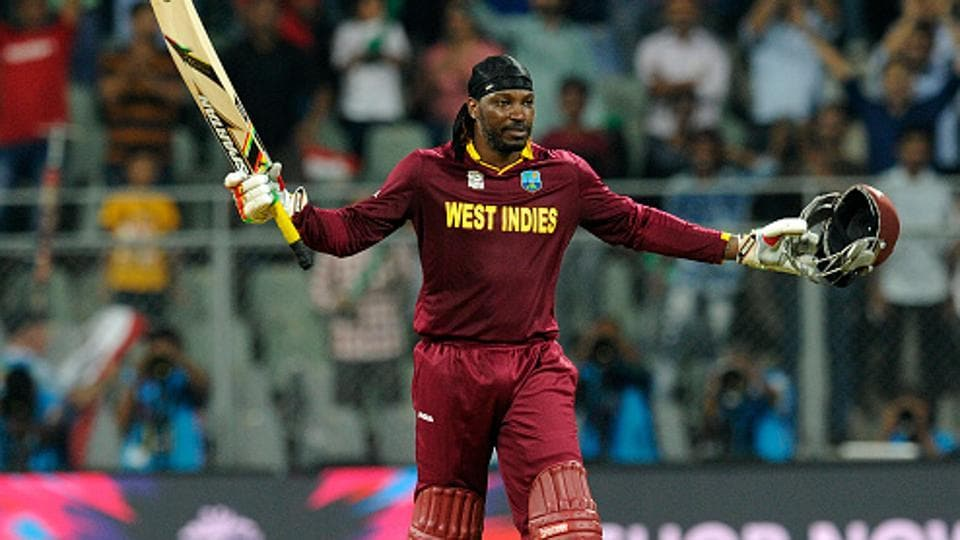 Chris Gayle is part of the West Indies squad for the one-off Twenty20 against India on Sunday.