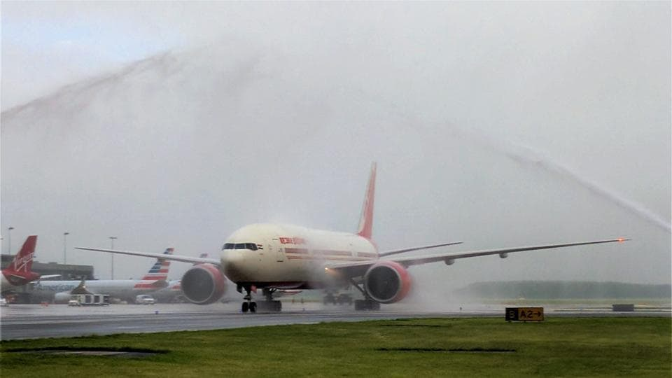 Air India launches Hyderabad-Washington flight