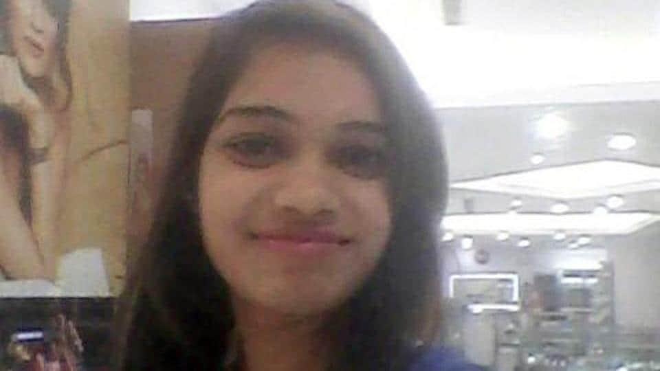 Aspiring airhostess Riya Gautam, who was stabbed to death in Delhi. (Raj K Raj/ HTPhoto)