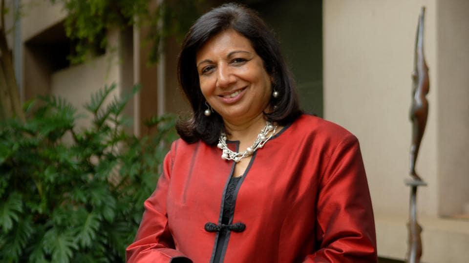 India's richest woman entrepreneur,Kiran Mazumdar Shaw,Othmer Gold Medal