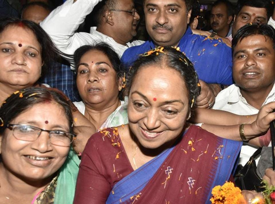 Opposition's presidential candidate Meira Kumar said , on Saturday, she was confident of her victory.