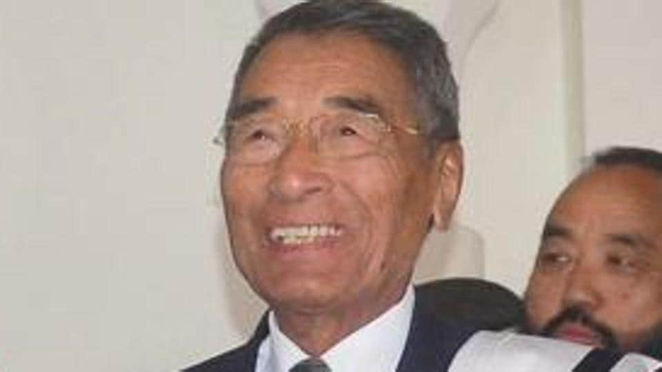 Nagaland chief minister Shurhozelie Liezietsu  faces rebellion from the NPF legislators four months after they made him  come out of retirement from electoral politics and take the hot chair.