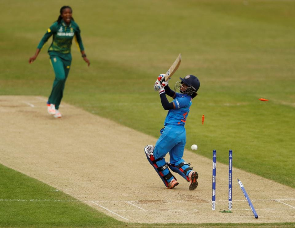 South Africa bowled India out 158 as Mithali Raj's side suffered their first defeat in the ICC Women's World Cup 2017. (Action Images via Reuters)