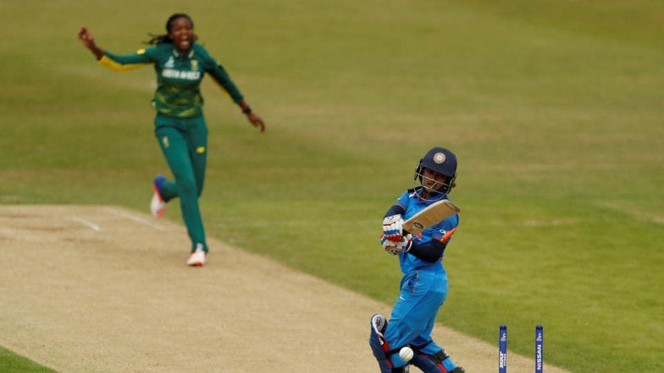 South Africa crushed India by 115 runs to register their third win in ICC Women's World Cup 2017.