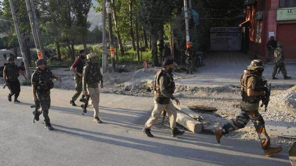 The ultras fired a UBGL grenade at a joint camp of CRPF and police at Aribal in Tral town at 10.30 pm onSaturday a police official said.