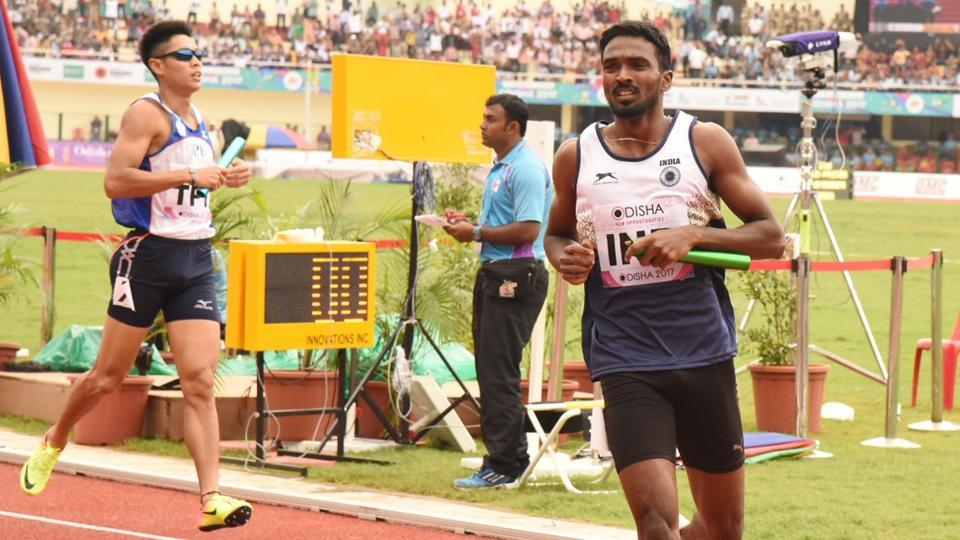 The Indian team has progressed to the men's 4x400 metres relay final at the Asian Athletics Championships.