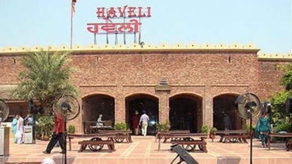 Haveli restaurant in Jalandhar.