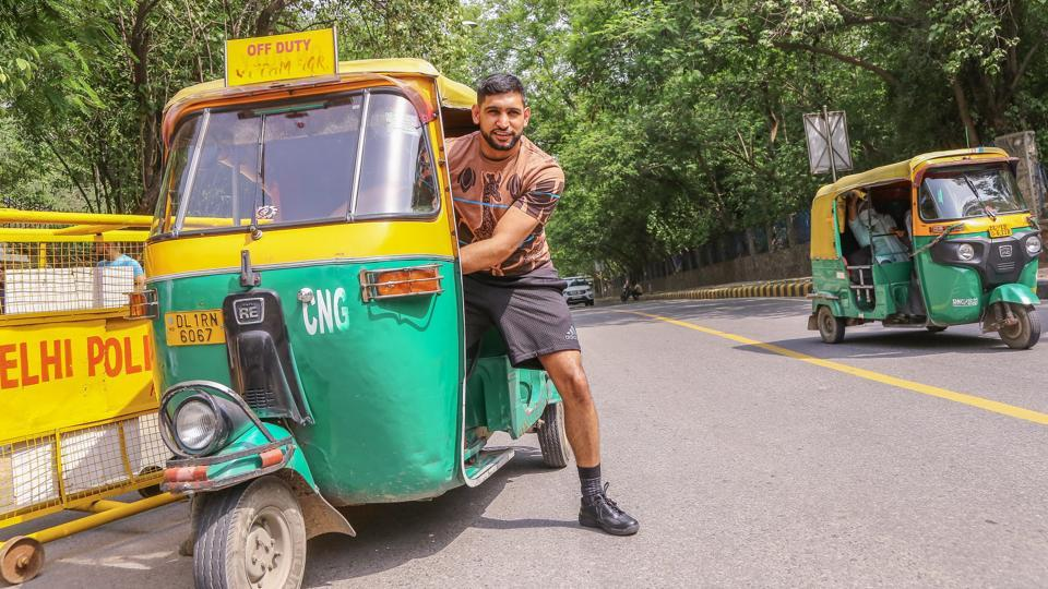 Boxer Amir Khan was in the Capital over the weekend.