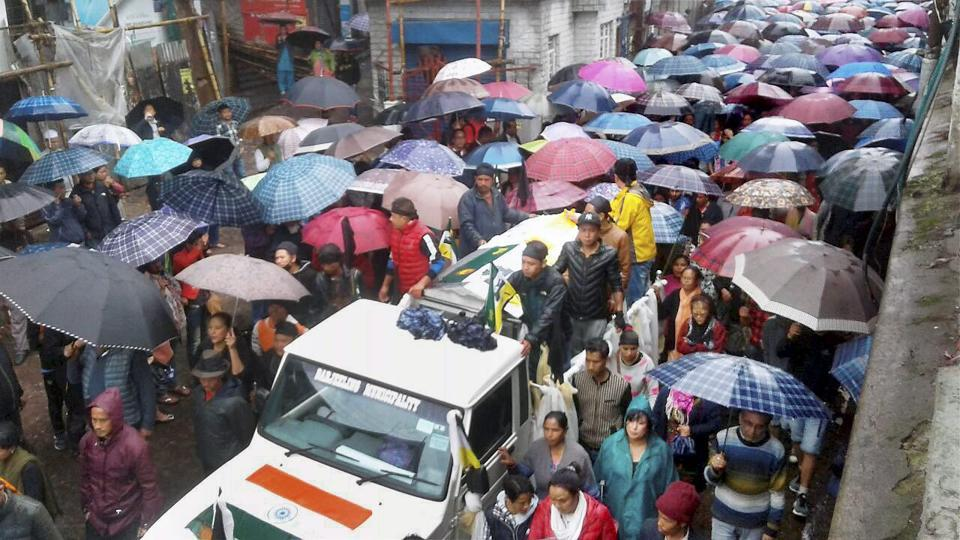 Darjeeling,Darjeeling unrest,West Bengal