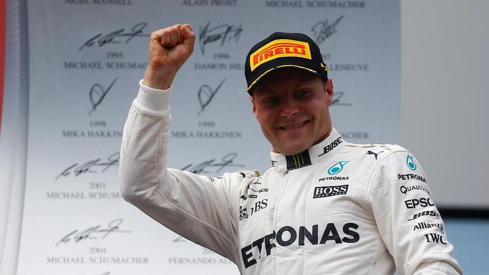 Bottas on pole for Austrian Grand Prix