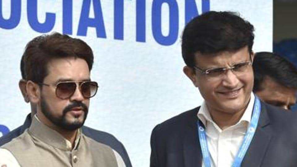 Sourav Ganguly has spoken out in favour of former BCCI President Anurag Thakur.