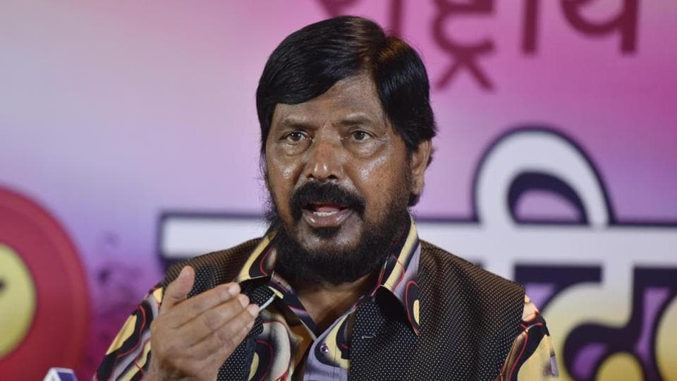 Union minister Ramdas Athawale suggested that states could announce a scheme to give Rs 25 crore from their budget to the district promoting maximum inter-caste marriages.
