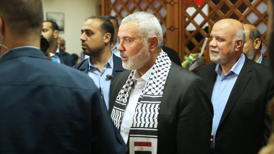 Hamas leader Ismail Haniya