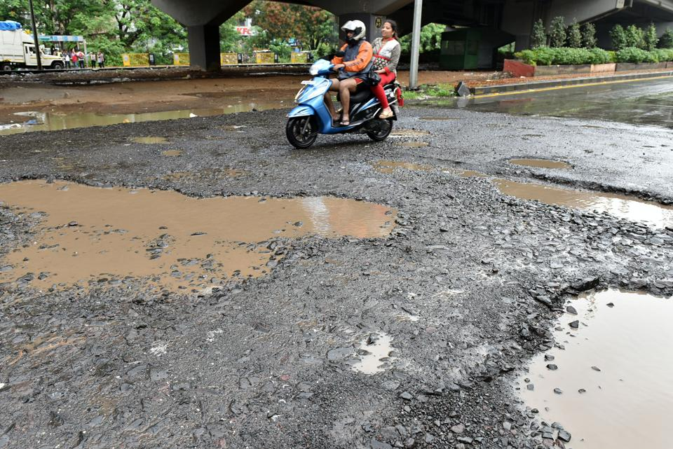 A PWDofficial said about 3.6kmof the 24.89-km highway is in a shoddy state.