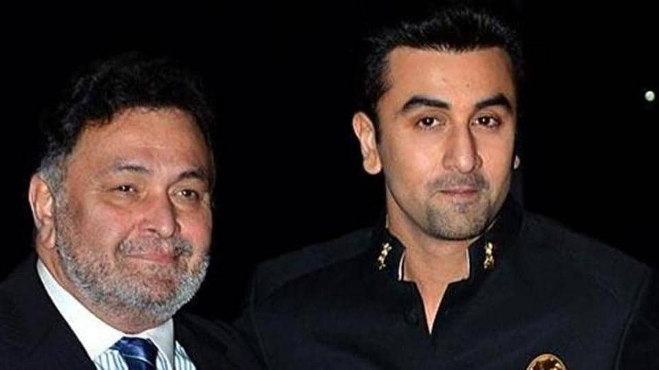 Ranbir Kapoor says he was really afraid of his dad as a kid.