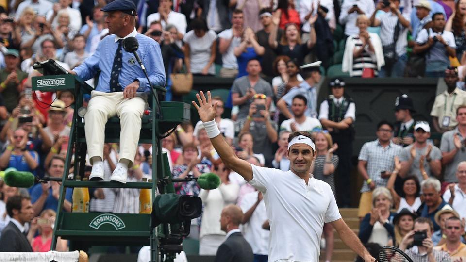 Wimbledon,Roger Federer,Andy Murray