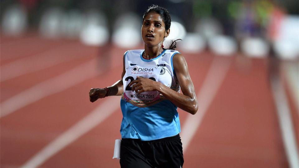 Sudha Singh won the 3000m steeplechase during the 22nd Asian Athletic Championships.