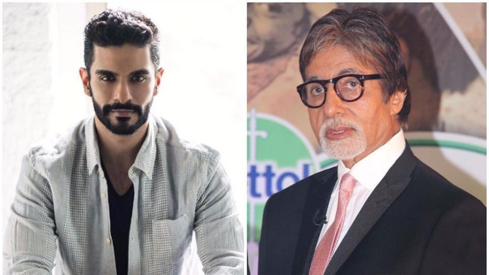 Actor Angad Bedi says that his Pink co-star Amitabh Bachchan taught him discipline and humility.