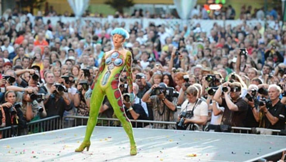 The 20th World Bodypainting Festival Begins From July 28 Here S All You Need To Know More Lifestyle Hindustan Times