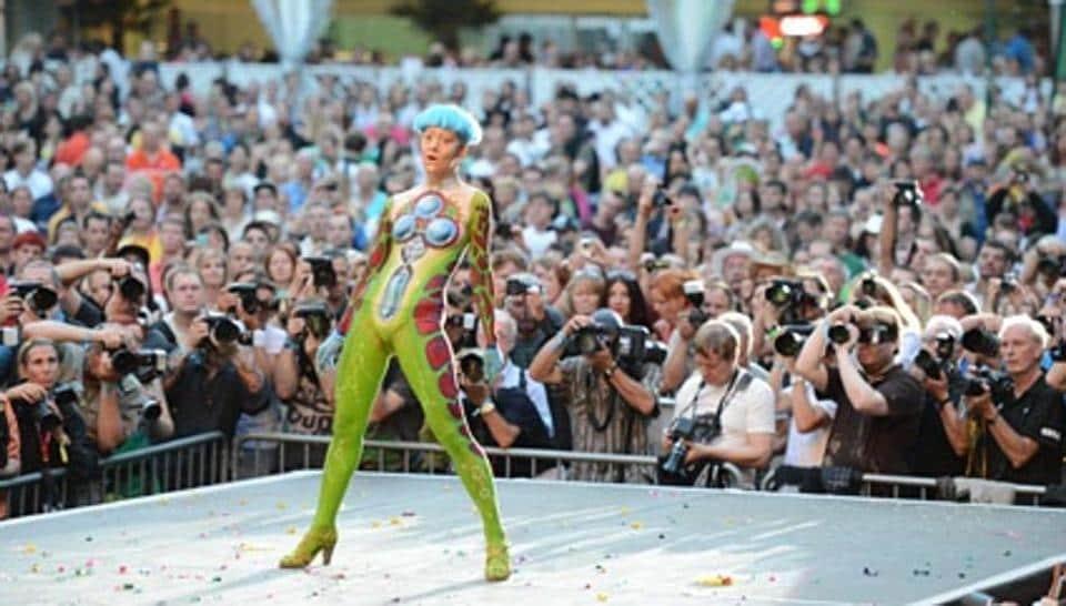 World Bodypainting Festival 2017,European Bodypainting Festival,Austria